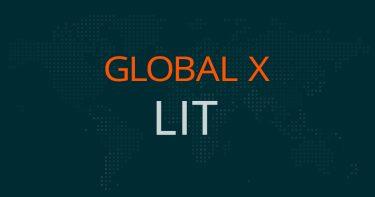 グローバルX  LIT~リチウム&バッテリーETFの評価